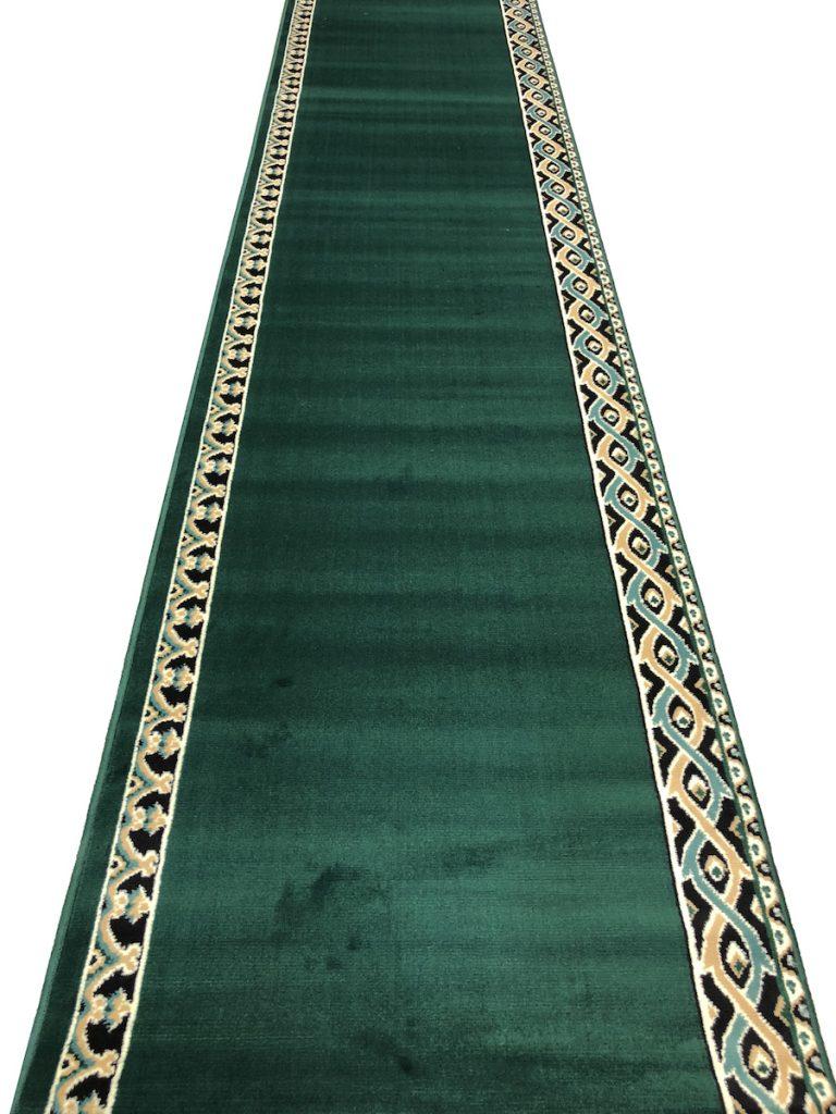 Karpet Madeena Hijau 105x600