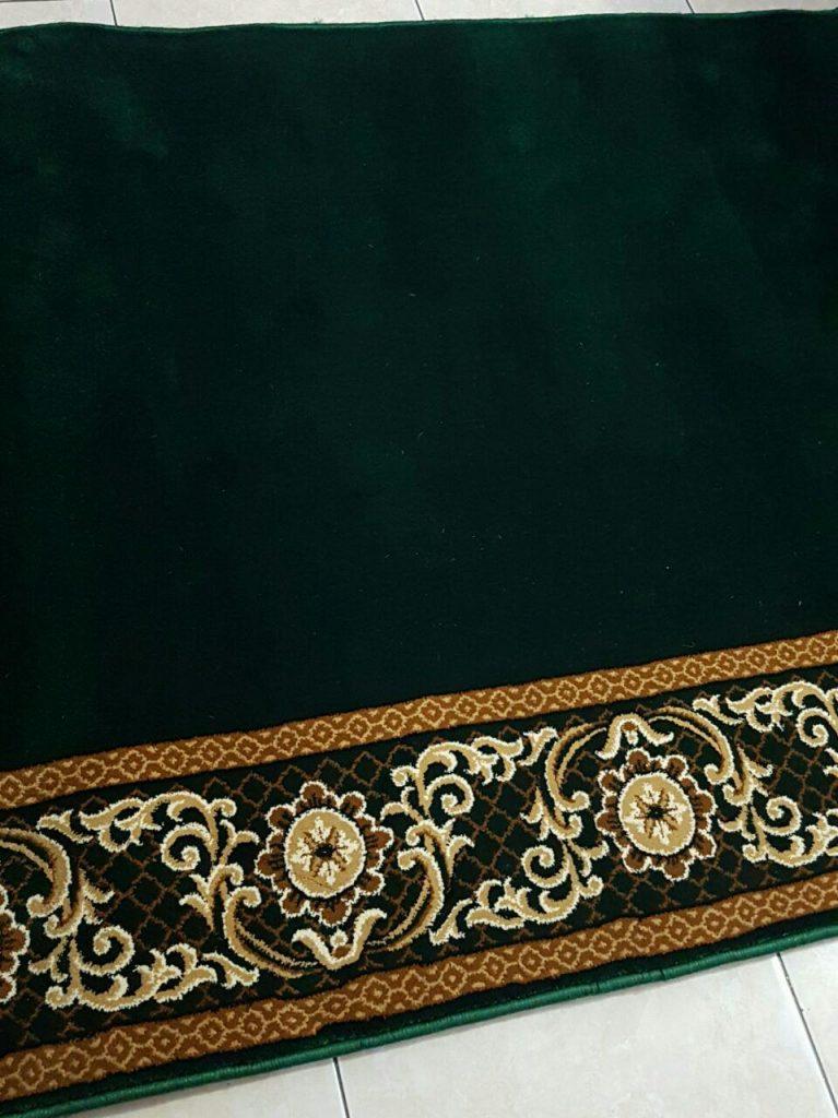 Karpet Masjid An Namaz Hijau