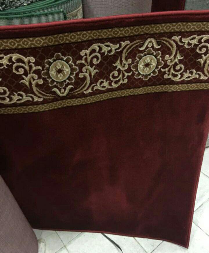 Karpet Masjid Lokal An Namaz Merah