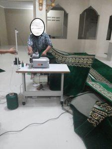 jual karpet masjid meteran bekasi selatan