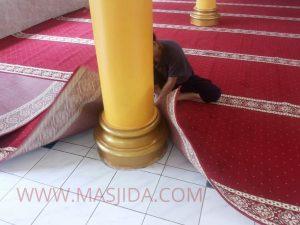 penjual karpet masjid di tegal