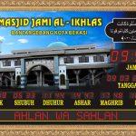 Jam Digital Masjid Karawang